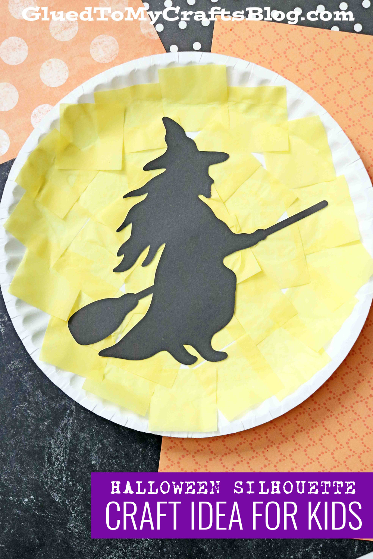 Silhouette Halloween Kid Craft Idea Using My Cricut Maker 3